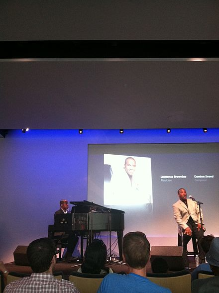 Lawrence Brownlee and Damien Sneed at Soho Apple store Lawrence Brownlee and Damien Sneed at Soho Apple Store.jpg