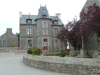 Le Minihic-sur-Rance Commune in Brittany, France