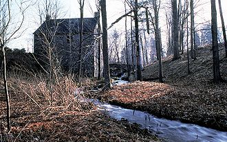 Saint-Bruno-de-Montarville - The old mill at Mont-Saint-Bruno National Park