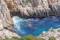 Le bleu intense de la Méditerranée sur l'île du Frioul.jpg