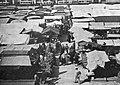 Le marché de plein vent place de la Place du Capitole de Toulouse, en septembre 1934.jpg