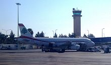 Lebanese airliner at Queen Alia International Airport.jpg