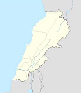 (Voir situation sur carte : Liban (administrative))