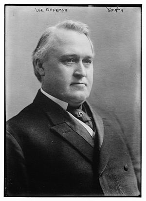 Lee Slater Overman - Overman circa 1918