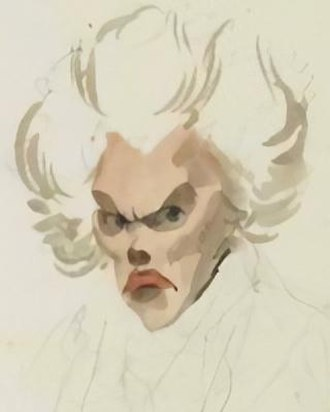 Adrien-Marie Legendre - 1820 watercolor caricature of Adrien-Marie Legendre by French artist Julien-Leopold Boilly (see portrait debacle), the only existing portrait known