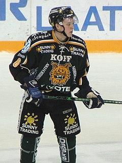 Joonas Lehtivuori Finnish ice hockey player