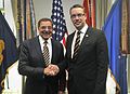 Leon E. Panetta and Stefan Wallin at the Pentagon May 10 2012.jpg