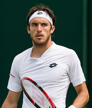 Leonardo Mayer - Image: Leonardo Mayer 1, 2015 Wimbledon Championships Diliff