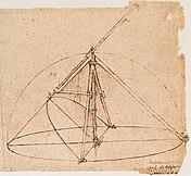 Leonardo parabolic compass