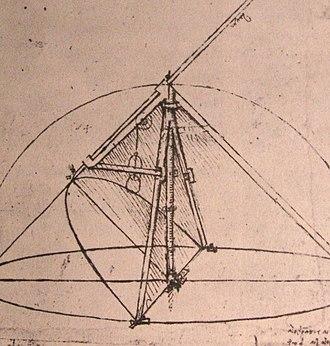 Parabola - Parabolic compass designed by Leonardo da Vinci