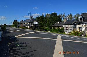 Les Authieux-sur-Calonne - Image: Les Authieux sur Calonne Street