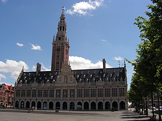 Catholic University of Leuven (1835–1968) - The library building designed by Whitney Warren and built from 1921–1928, now the KUL's central library.