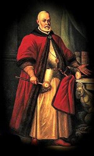 Ruthenian nobility - Lew Sapieha, grand chancellor of the Grand Duchy of Lithuania, Ruthenia and Samogitia