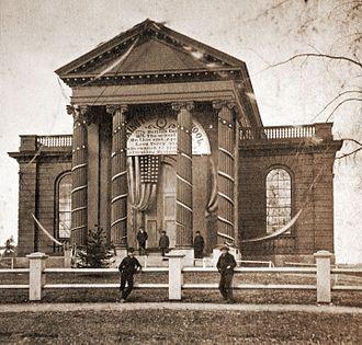Lexington High School (Massachusetts) - Lexington High School originally occupied this building from 1854 to 1902.