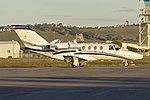 Light Jets Australia (VH-TFW) Cessna 525 CitationJet at Wagga Wagga Airport.jpg