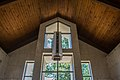 Light over altar in Chapel - section 76-77 - Mt Olivet - Washington DC - 2014.jpg