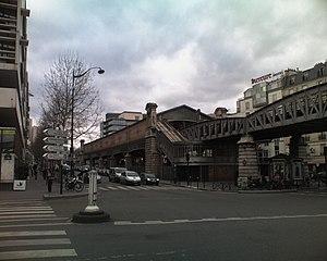 Quai de la Gare (Paris Métro) - Image: Ligne 6 Quai de la Gare