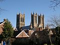 Lincoln Cathedral from Westgate.jpg