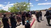 File:Line for Bernie Sanders Rally in Santa Fe, NM. May 20, 2016.webm