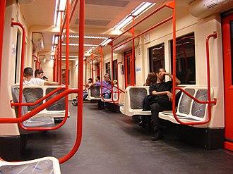 Companhia Paulista de Trens Metropolitanos - Image: Linha 6dentro