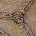 Lion ailé, symbole de saint Marc lévangéliste, sculpté pour une clef de voûte du porche de Saint-Germain-lAuxerrois.jpg