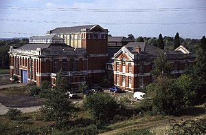 Thames Water - Water pumping station at Littleton