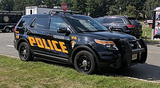 Livingston, New Jersey - An SUV of the Livingston Police Department