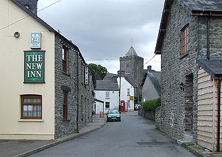 Llanddewi Brefi Human settlement in Wales