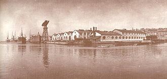 Christian Hansen (architect) - Österreichischer Lloyd's Arsenal and Dockyards at Trieste, c. 1900