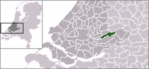 Groot-Ammers - Image: Locatie Liesveld