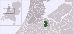 Location of Oud-Loosdrecht