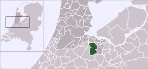 's-Graveland - Image: Locatie Wijdemeren