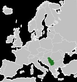 Положај Србије