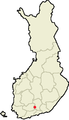 Location of Hämeenkoski in Finland.png