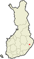 Location of Rääkkylä in Finland.png
