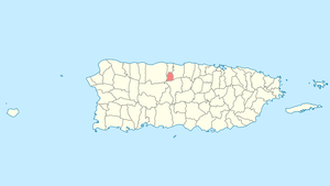 Location of Florida in Puerto Rico