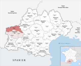 Arrondissement of Condom Arrondissement in Occitanie, France