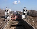 Lock on Channel im. Moskvy - Moscow, Russia - panoramio.jpg