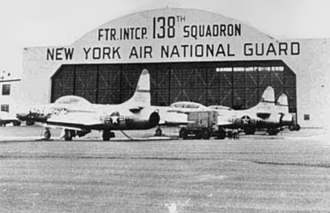 138th Attack Squadron - 138th FIS F-94s in the 1950s