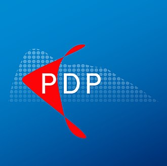 Progressive Democratic Party (Gibraltar) - Image: Logo of the Progressive Democratic Party