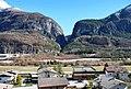 Longarone (BL) Vista della diga del Vajont 23 Febbraio 2014 - panoramio.jpg