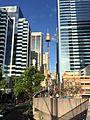 Looking down Market Street, Sydney from Western Distributor overpass.jpg