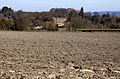 Looking over a ploughed field to Ardington House - geograph.org.uk - 1761479.jpg