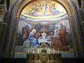 Lourdes église Rosaire mosaïques Nativité (1).JPG