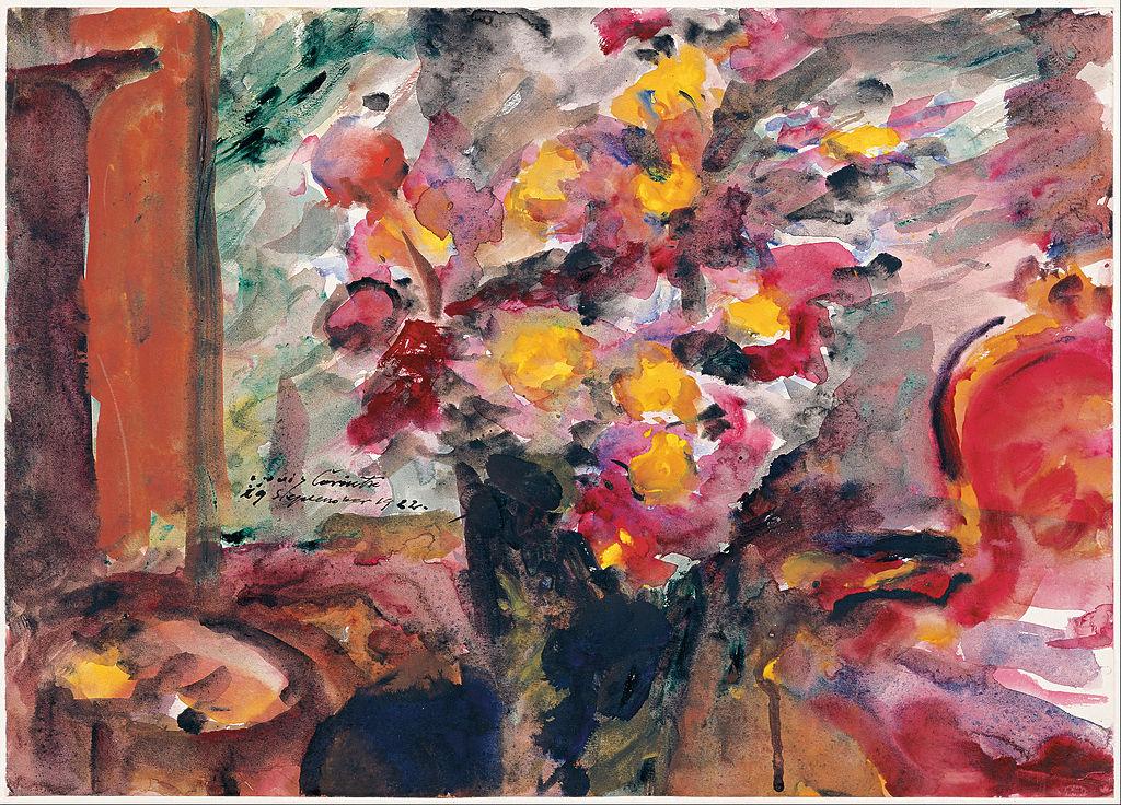 File Lovis Corinth Flower Vase On A Table 1922 Google
