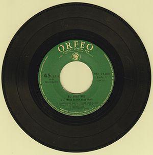 Yerba Buena Jazz Band - A maxi single record edited in Argentina.