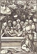 Lucas Cranach the Elder, The Entombment, in or before 1509, NGA 37023.jpg