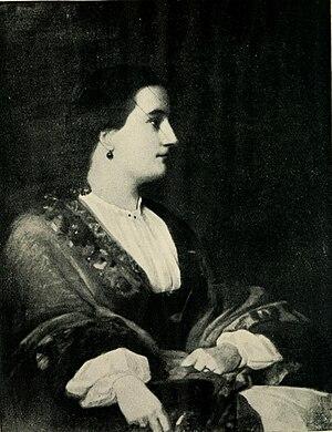 Lucie, Lady Duff-Gordon - Lucie, Lady Duff-Gordon by Henry W. Phillips (c.1851).