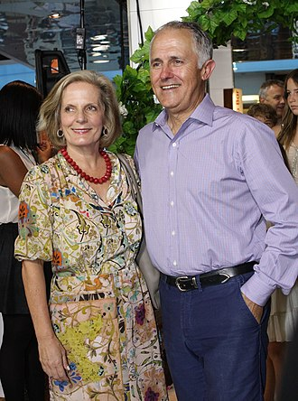 Lucy Turnbull - Turnbull and her husband, Malcolm Turnbull, in January 2012