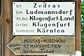 Ludmannsdorf Zedras Ortsschild 20110616 033.jpg